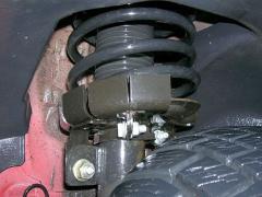 Stützteller - Rückrufaktion 5044 - Fiat Stilo - montiert
