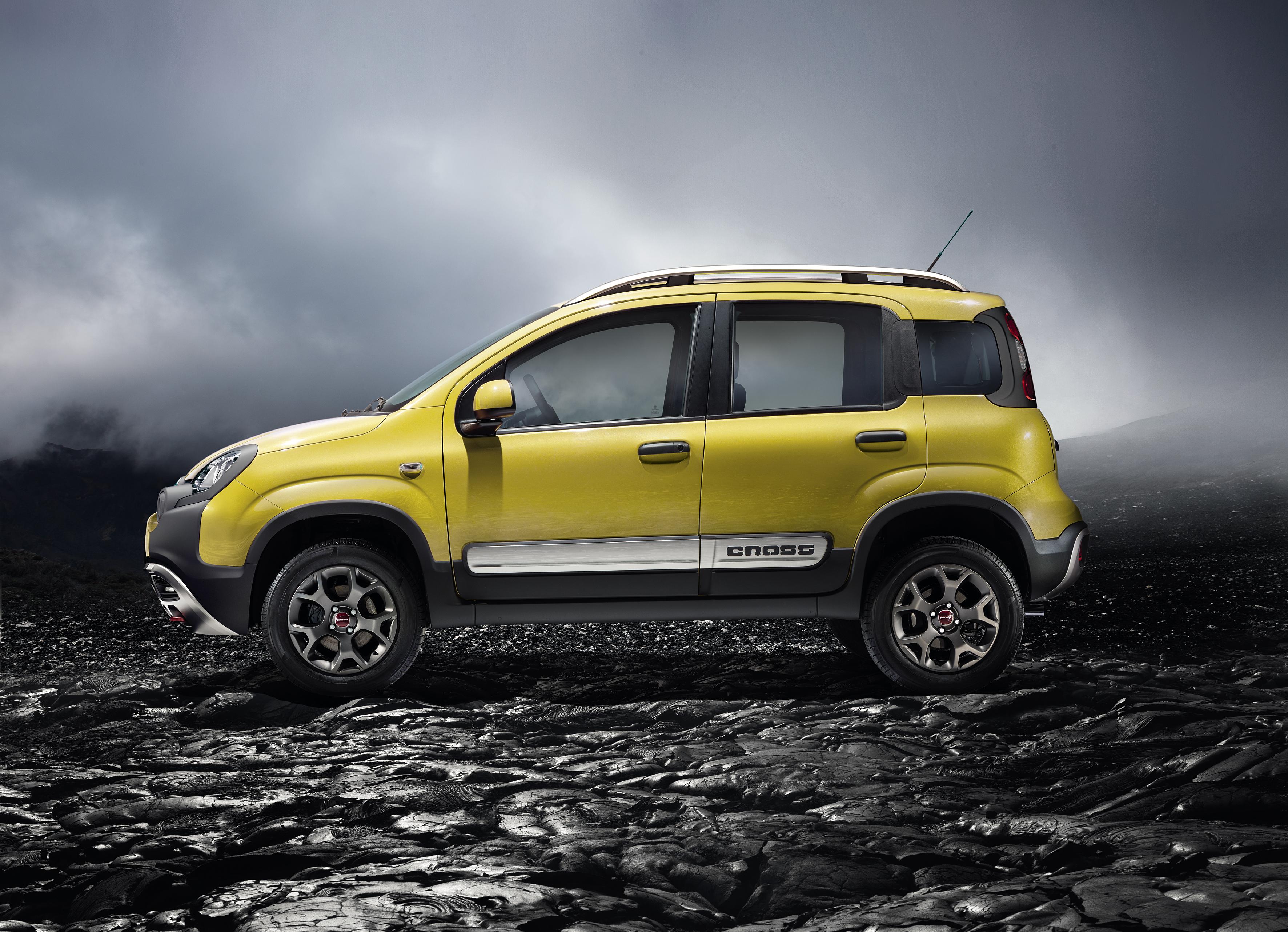 Der neue Fiat Panda Cross: kompetenter Geländewagen mit Stil
