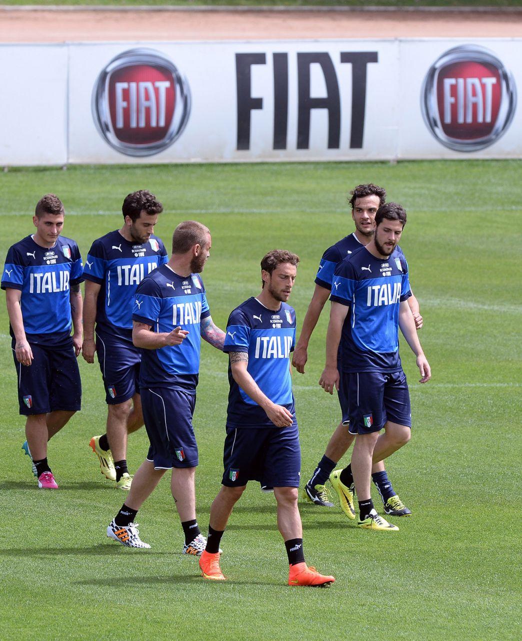Fiat – Offizielles Auto der Italienischen Fußballnationalmannschaft